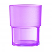 Vaso Policarbonato 20 CL Color Malva