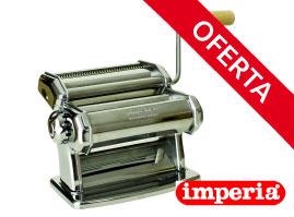 Maquina manual de pasta imperia de 150 mm.
