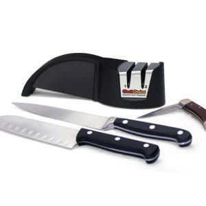 Chef'sChoice® Modelo 478 afilador manual económico y compacto.