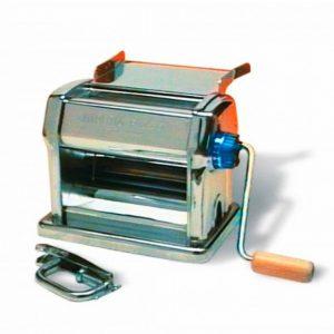 Imperia 010 - Maquina pasta manual, acero, color plata.