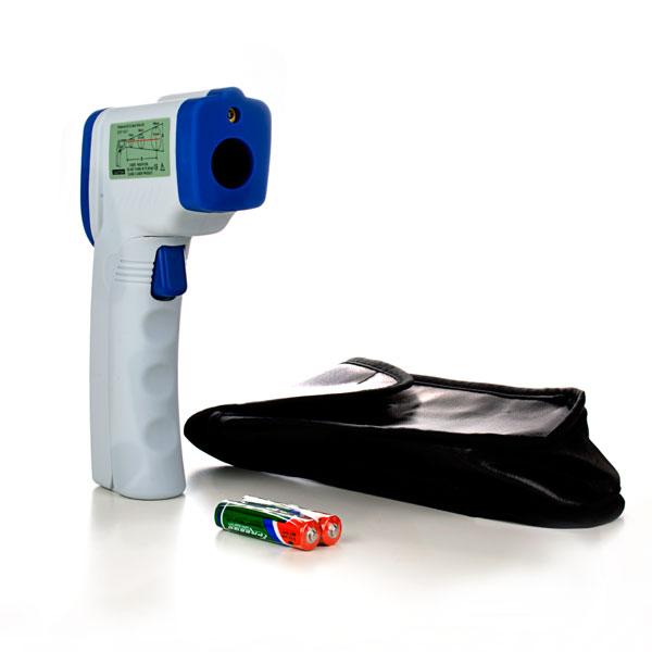 Termómetro a infrarrojo con rayo láser