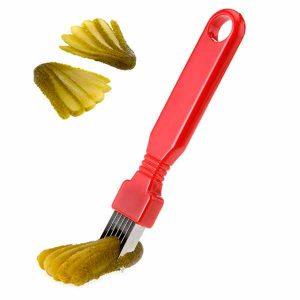 """Decorador para pepinos """"Dekofix"""" • siete hojas cortan rápida y eficientemente"""