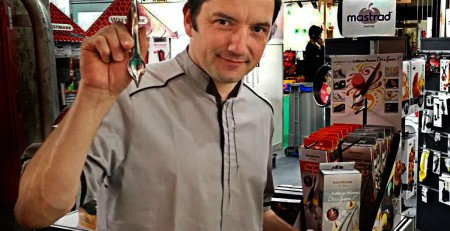 Christophe Vinot, inventor y Chef.
