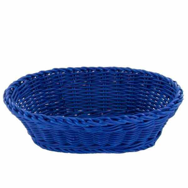 Cesta Saleen oval azul