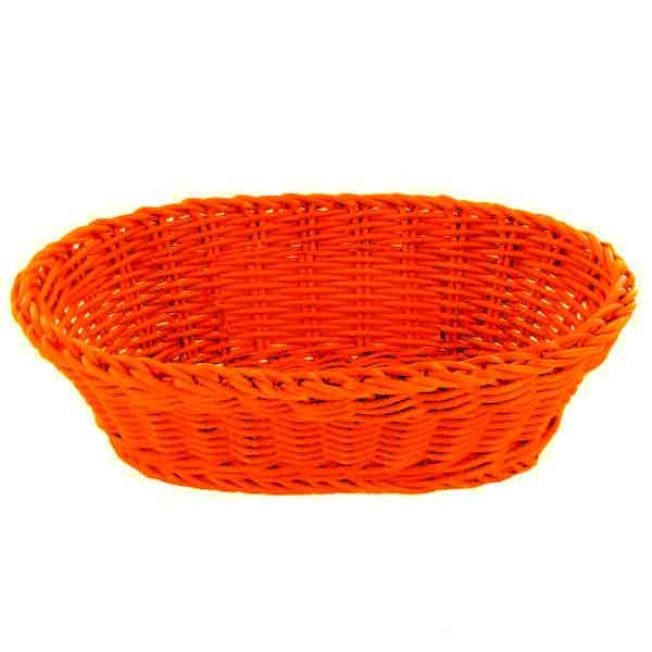 Cesta Saleen oval naranja
