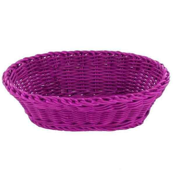Cesta Saleen oval púrpura