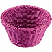 Cesta Saleen redonda púrpura
