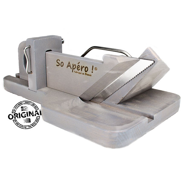 So Apéro cortadora de embutidos original color gris