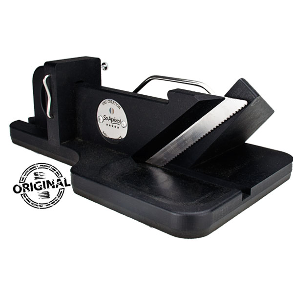 So Apéro cortadora de embutidos original color negra