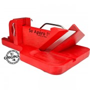 So Apéro cortadora de embutidos original color roja