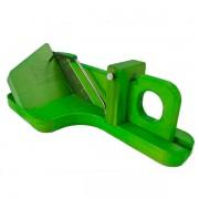 So Apéro cortadora de embutidos original color verde vista desde atras